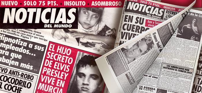 Periódico Noticias del Mundo Número 11 1994