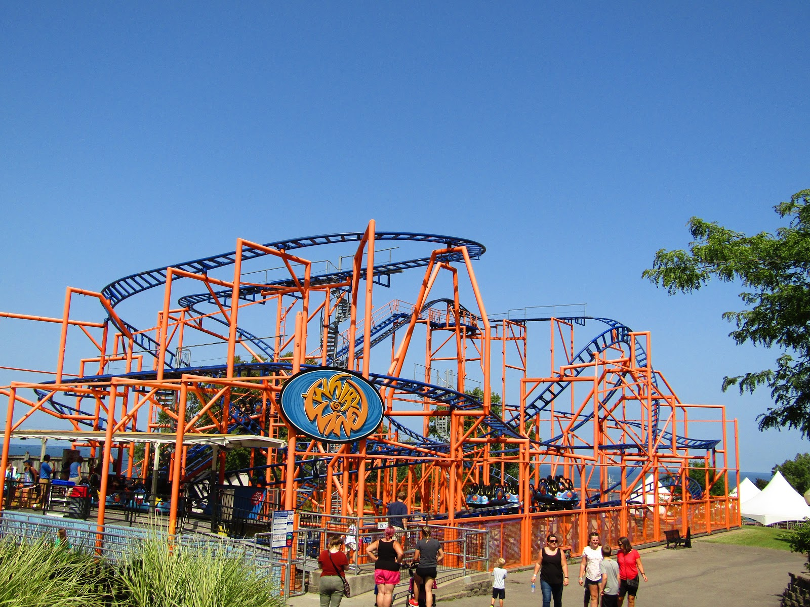 Seabreeze in Rochester, New York celebrated its th anniversary in The park opened on August 5, , as the last stop on the steam railroad. The attractions at the time were picnic groves and the lakefront and it wasn't until the early s that rides were added creating the amusement park.