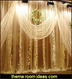 Wedding Party lights Fairy Curtain String Light Decoration for Wedding Party