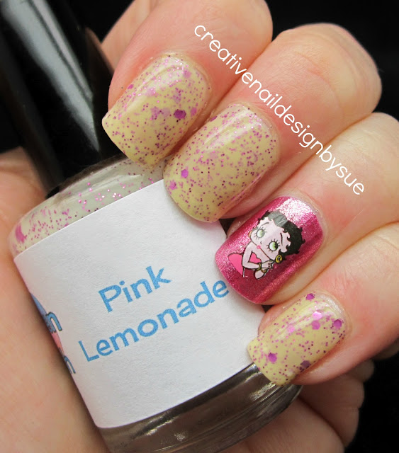 Betty Boop Nails: Creative Nail Design By Sue: August 2012