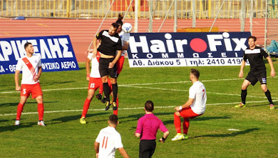 Εκτος εδρας νικη για την Βεροια με 3-1 επι του Απολλων Λαρισας.