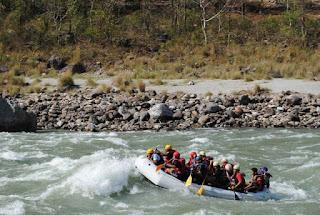 river rafting- ram jhoola; rishikesh river rafting at ganga;