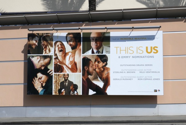 This Is Us season 2 Emmy nominee billboard