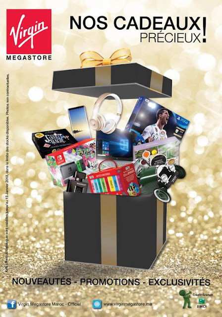 catalogue virgin megastore decembre janvier 2018