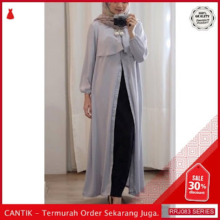 Jual RRJ083D87 Dress Nindana Maxy Wanita Sk Terbaru Trendy BMGShop