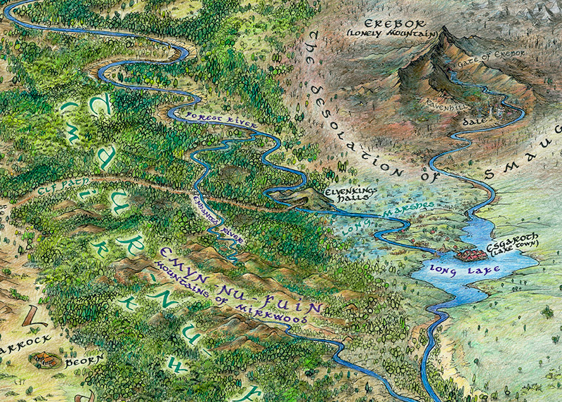 Kovadlo Hobbit There And Back Again My Map To Tolkien S