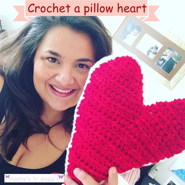 πώς να πλέξεις ένα μαξιλάρι καρδιά