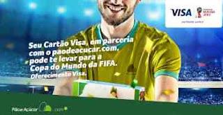 Cadastrar Promoção Pão de Açúcar Visa 2018 Viagem Copa do Mundo Rússia