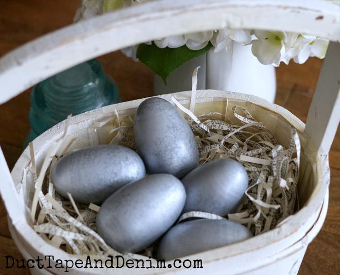 Galvanized Easter Eggs