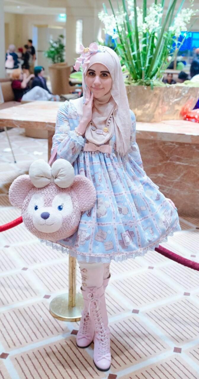 ازياء محجبات مستوحاة الموضة اليابانية tumblr_netf380DwM1qi