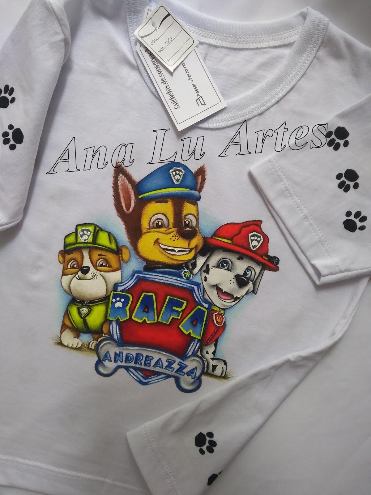 Pintura Em Tecido Ana Lu Artes Camisetas E Sacolinha
