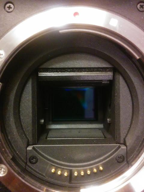 Sensor CMOS in Canon DSLR