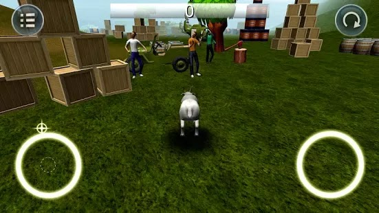 Goat Simulator apk 1.01 stunning 3D graphics - smooth and easy controls 2