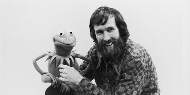 Jim Henson con la Rana Gustavo (Kermit the Frog)