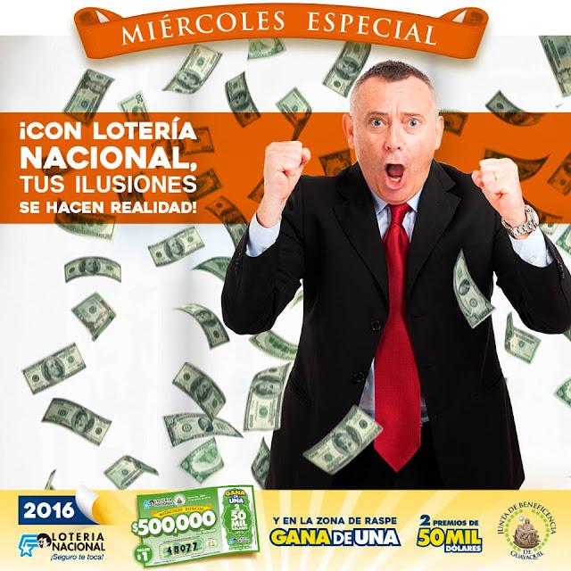 numeros ganadores lotería nacional ultimo sorteo