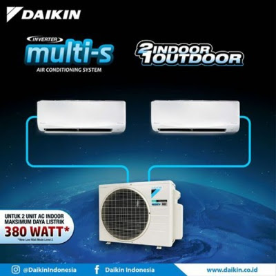 Daftar Harga Daikin Multi-S 2 Connection