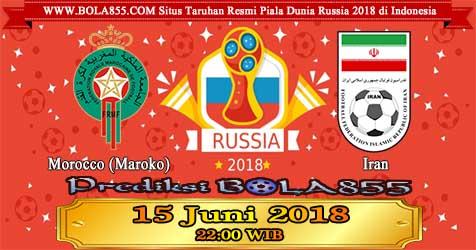 Prediksi Bola855 Morocco vs Iran 15 Juni 2018