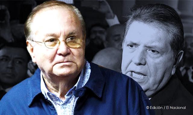 Luis Nava y Alan García
