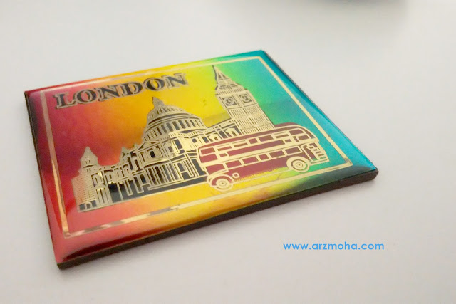 fridge magnet london, fm, hadiah dari london, hadiah dari blogger anies,