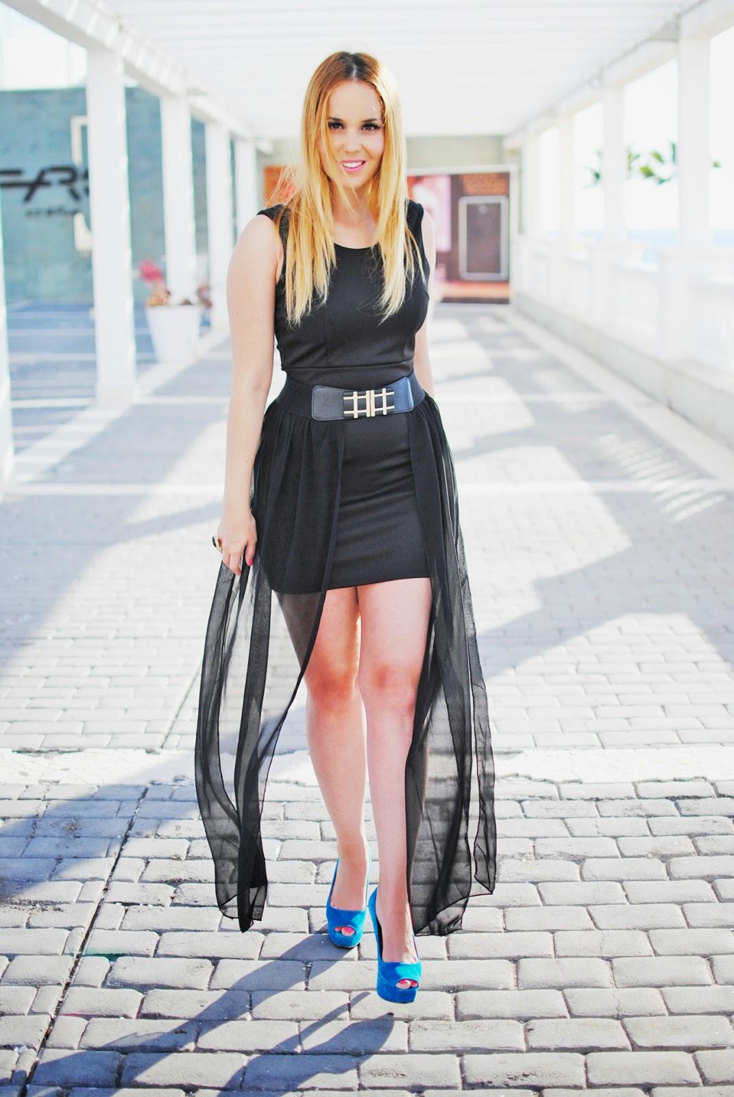 nery hdez, vestido q2, blonde, lbd, little black dress, vestido negro, vestido de fiesta