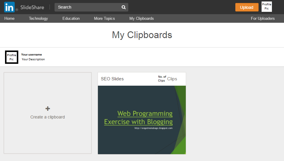 how to upload to slideshare to boost your blog angat ang makabago