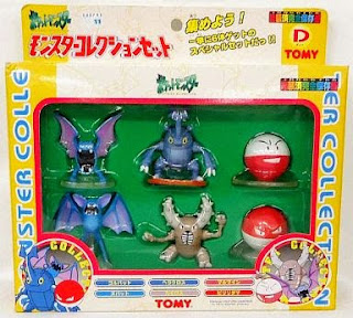 Pokemon figure Tomy Monster Collection Set D