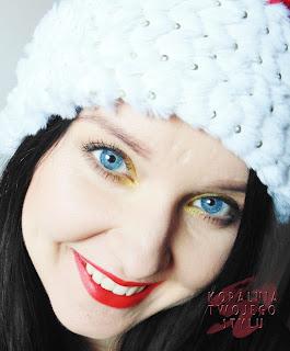 Soczysty makijaż świąteczny
