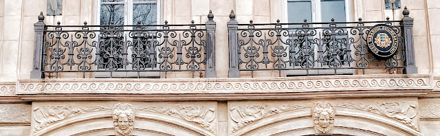 Wrought Iron balconies from 1880's