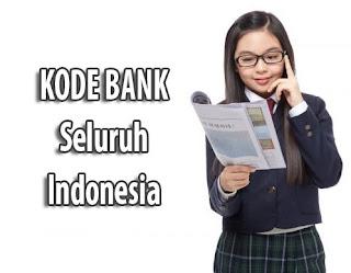 Kode Bank Mandiri, BRI, BNI, BCA dan Bank Lainnya di Seluruh Indonesia Terupdate