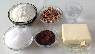 Baton de ciocolata cu nuca - etapa 1