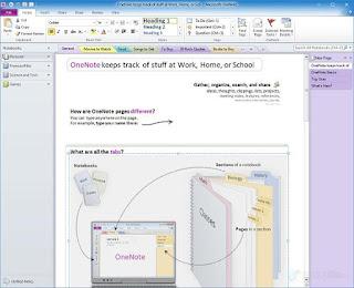 برنامج ميكروسوفت ون نوت  Microsoft OneNote