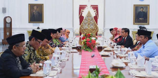 Undang Pimpinan 17 Ormas Islam, Presiden Minta Ulama Dinginkan Suasana : Detikberita.co Terbaru Hari Ini