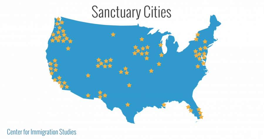 Hla Oos Blog Anarchy Sanctuary Cities Mushrooming All Over USA - Us sanctuary cities map