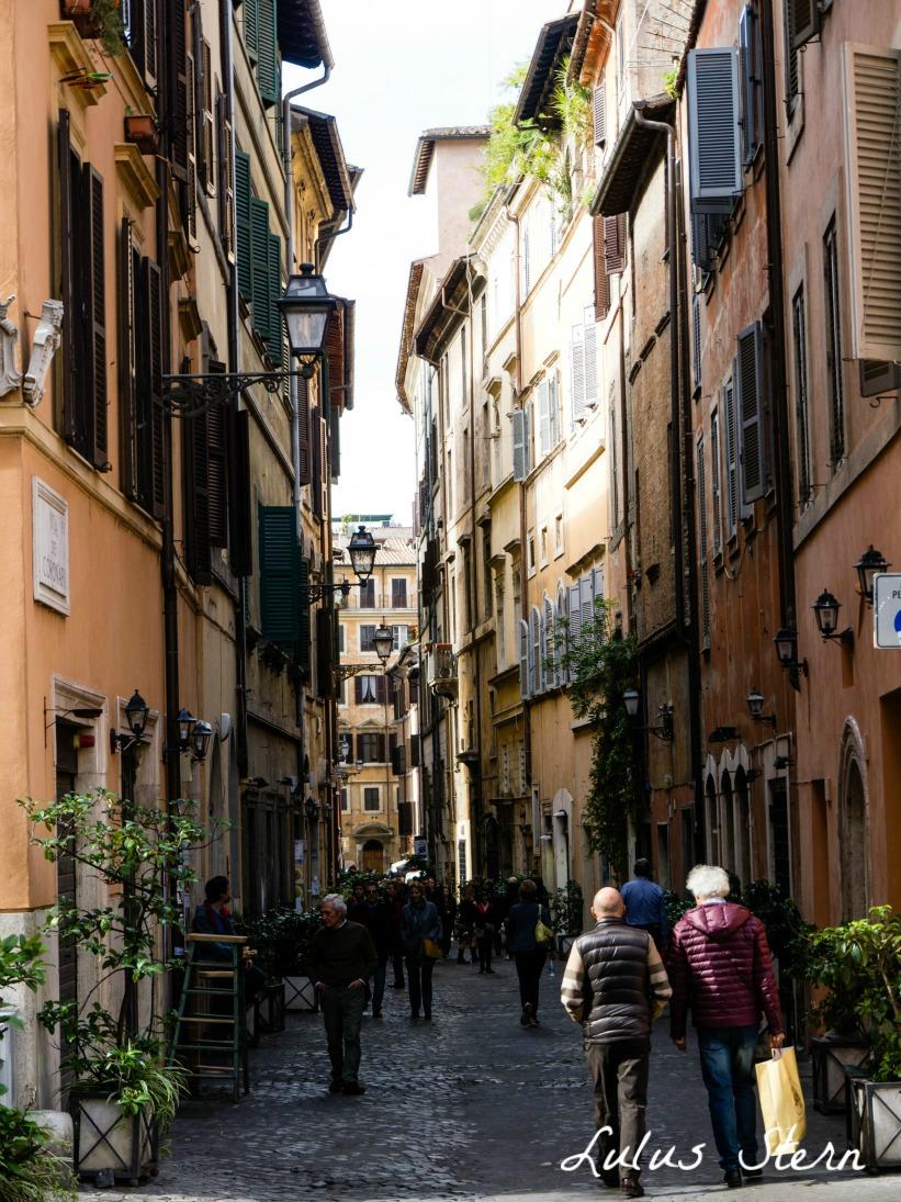 Straßen und Gassen in Rom