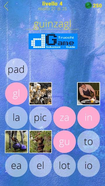 650 Foto soluzione pacchetto 4 livelli (1-25)