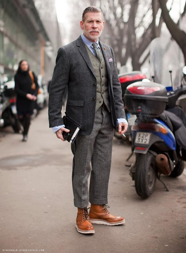 MY FASHION TRICKS: STREET STYLE: Nick Wooster