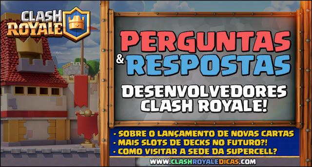 Desenvolvedores de Clash Royale