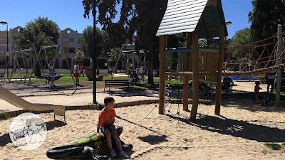 Luke en el Parque de Consolación de Utrera, en la I Jornada #UtreraEnFamilia.