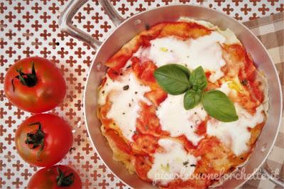 foto Ricetta pizza a base di pane carasau per bambini