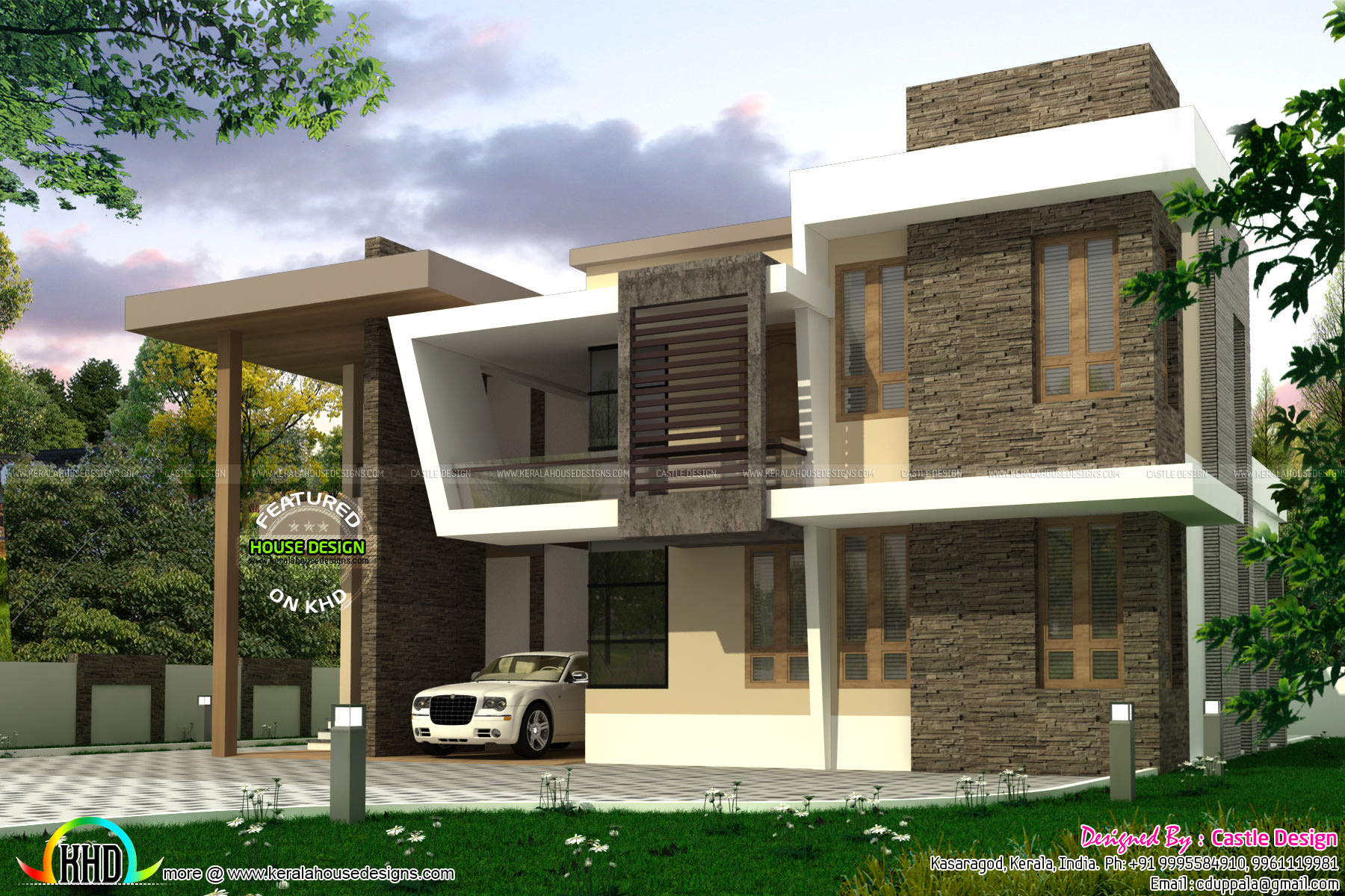 Kerala Home Design And Floor Plans 223 Sq M 4 Bedroom
