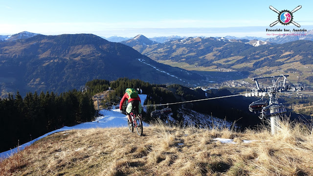 Trails in den Kitzbüheler Alpen