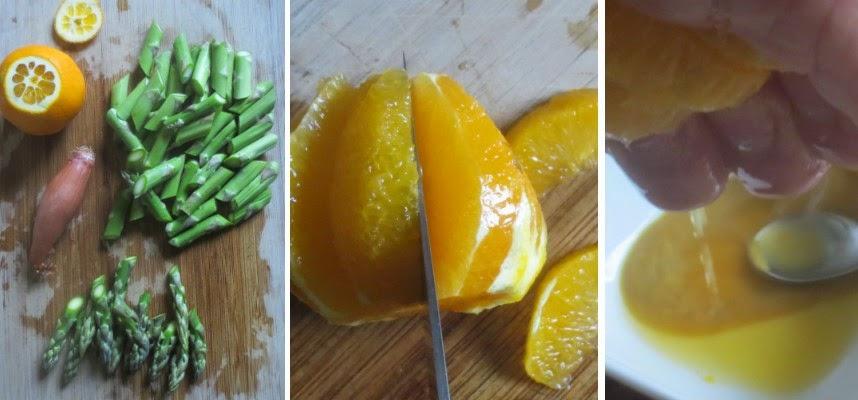 Zubereitung Spargelsalat