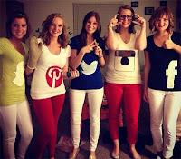Disfraces redes sociales