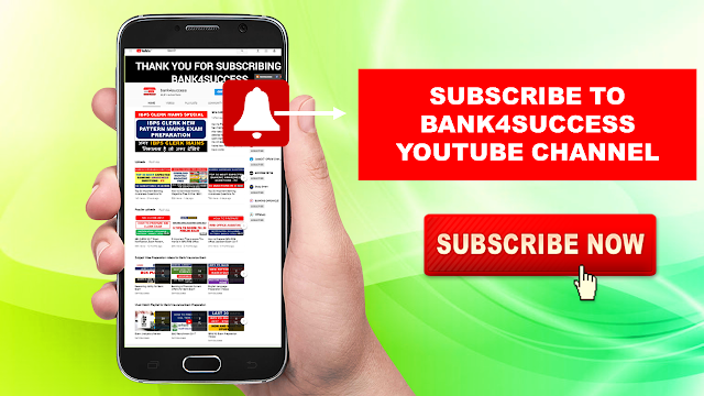 Subscribe BANK4SUCCESS (YouTube) Channel