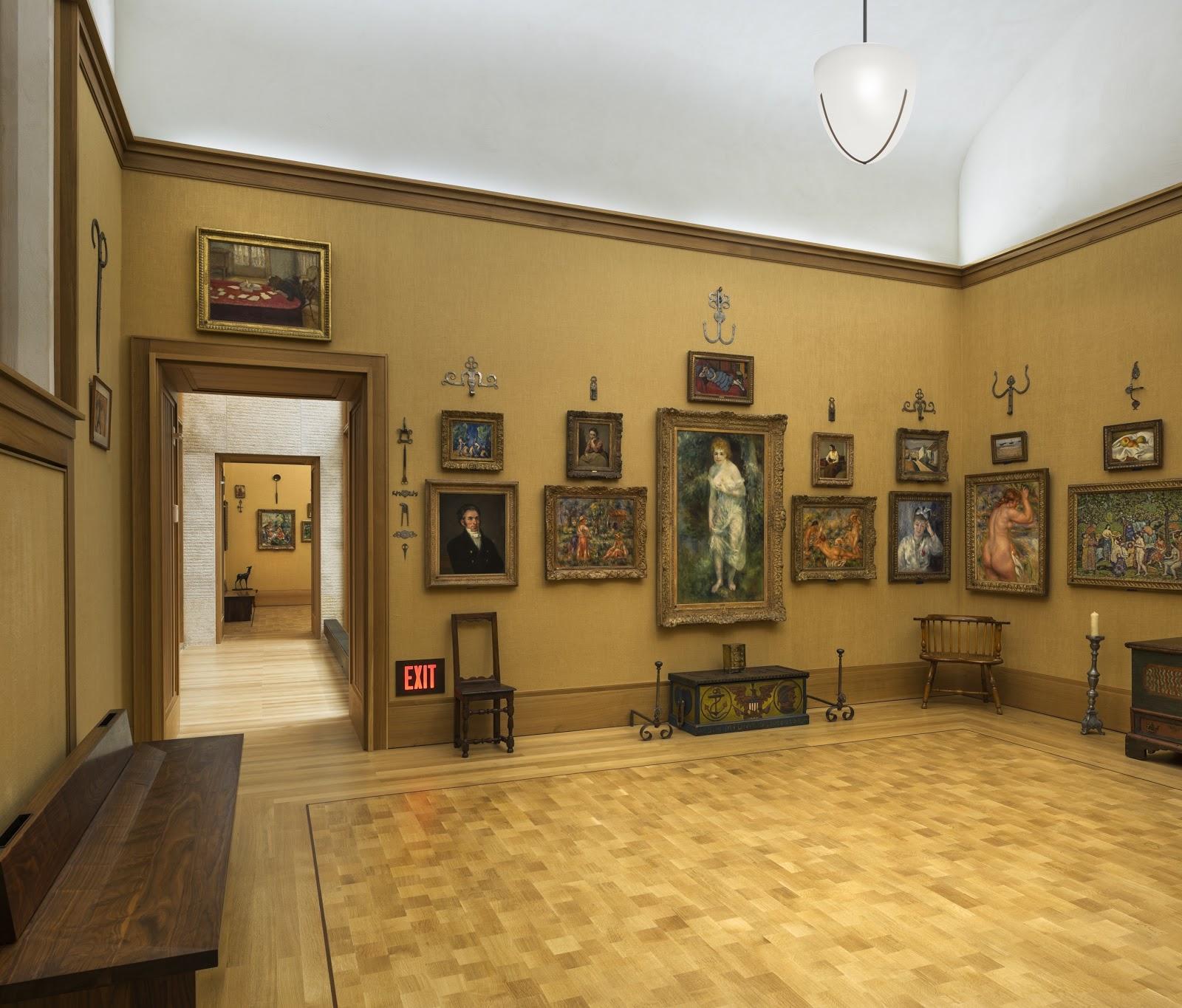 style court: Ensemble Piece: The Barnes Collection