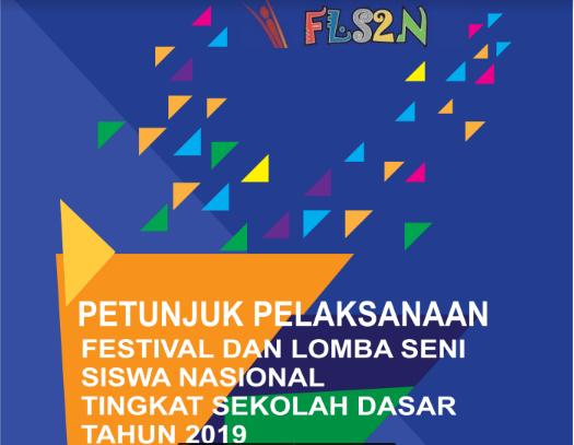 Juklak FLS2N SD 2019, Juknis FLS2N SD 2019, tomatalikuang.com