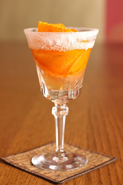 cocktail ancien au cognac