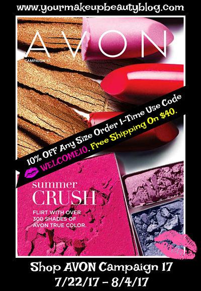 Shop Avon Campaign 17 Good Through 7/22/17 - 8/4/17. Click on Image >>>