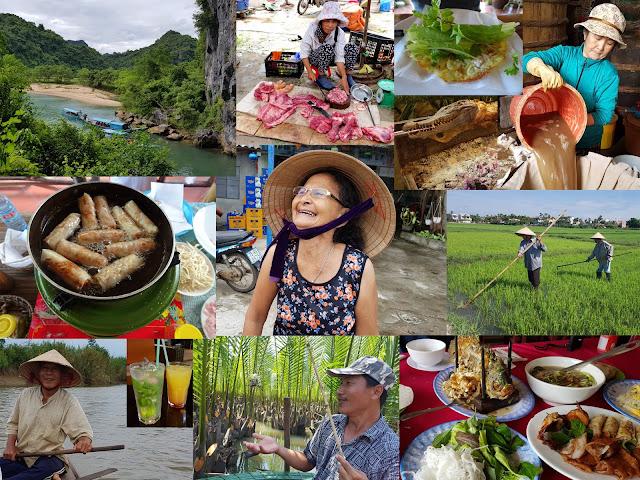 foto's en reisverslag collage vietnam
