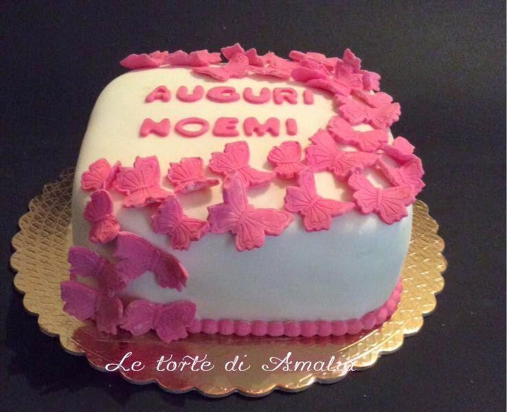 Torta Compleanno Noemi.Le Torte Di Amalia Torta Compleanno Noemi